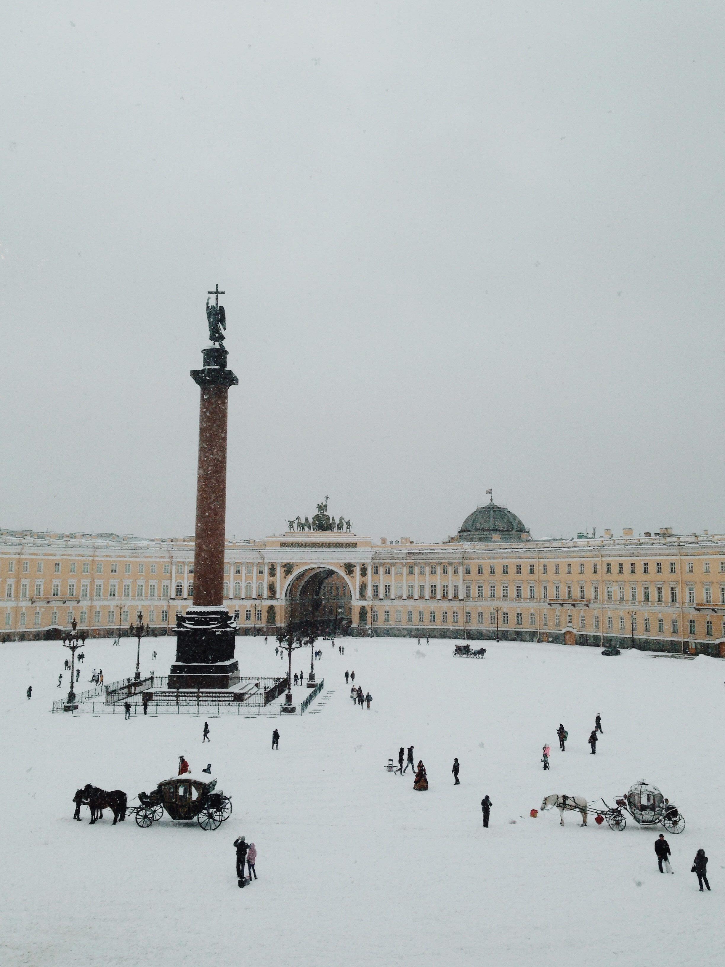サーシャの地元サンクトペテルブルク