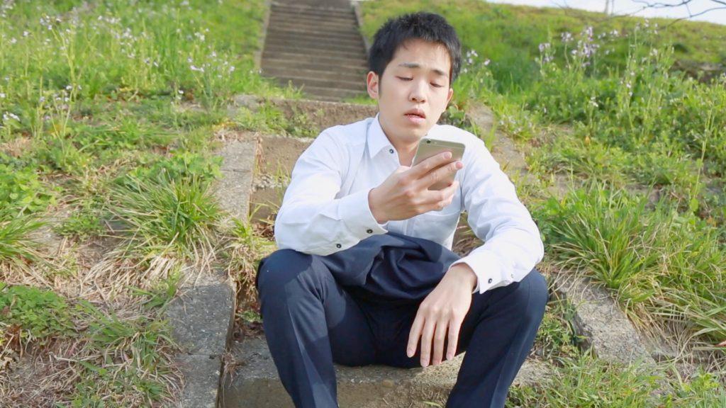 悩む壮太_doda新卒エージェント紹介