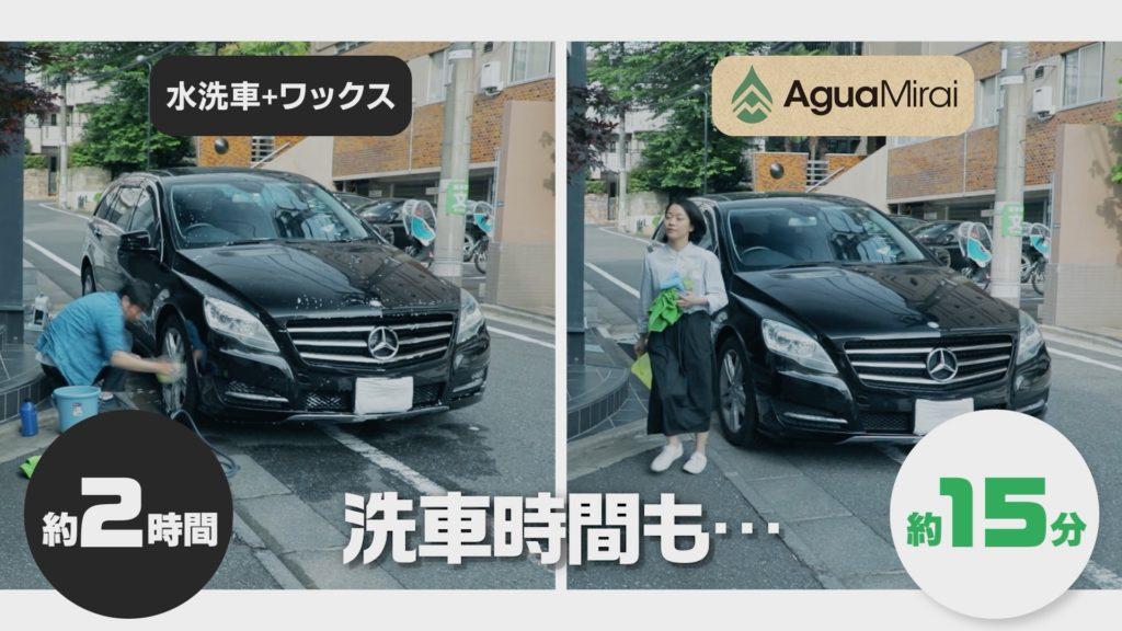 洗車時間_アグアミライ
