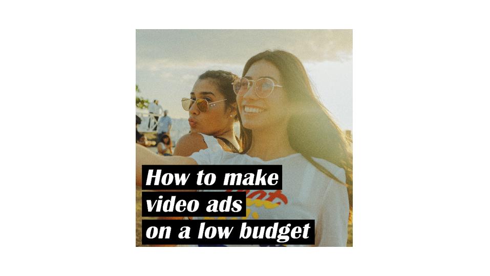 低予算で動画広告を作るには
